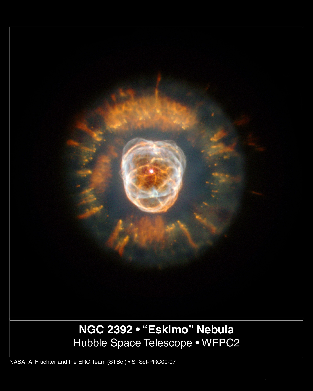 La nébuleuse de l\'Esquimau par Hubble