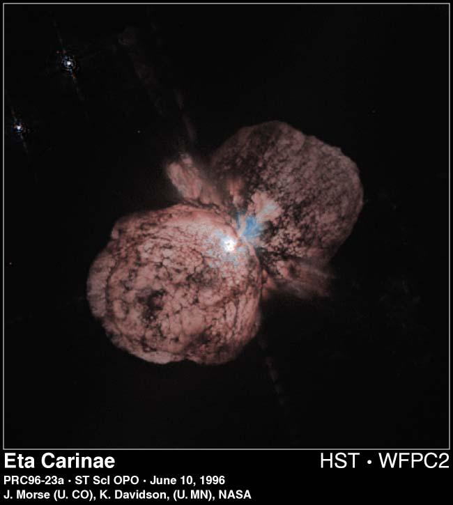 L\'étoile Eta Carinae condamnée