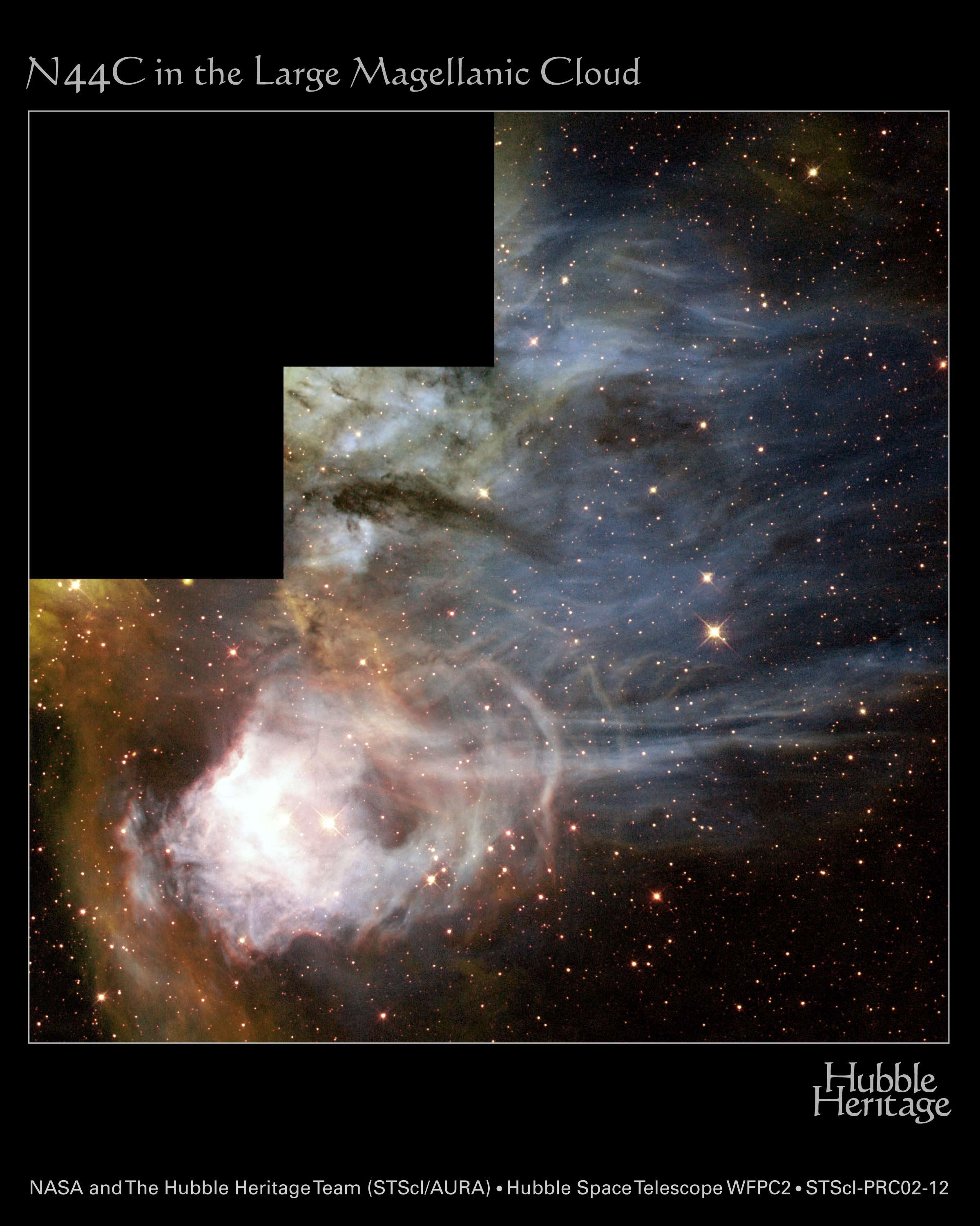 N44C: Une nébuleuse mystère