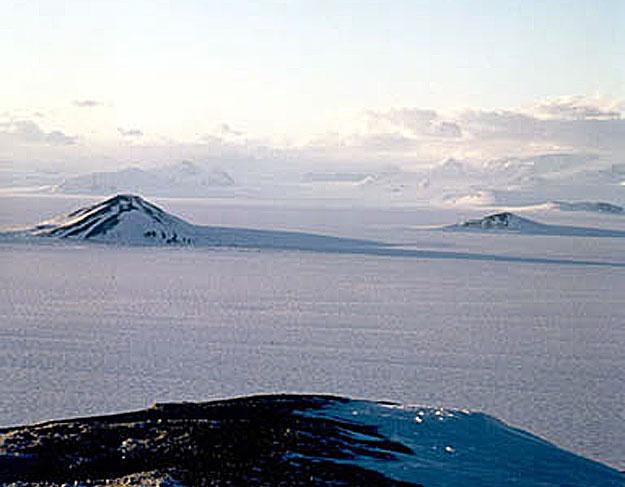 Panorama de la banquise antarctique