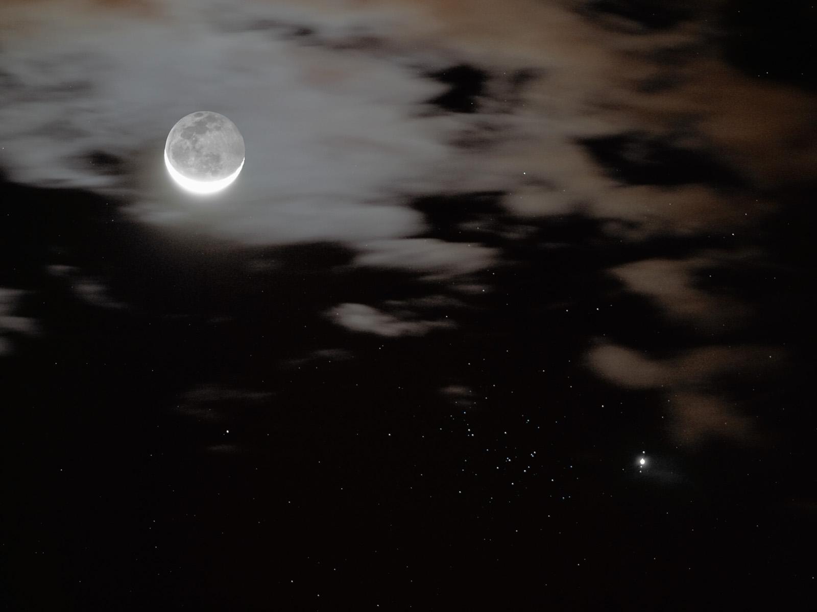 Jupiter, la Lune et les abeilles