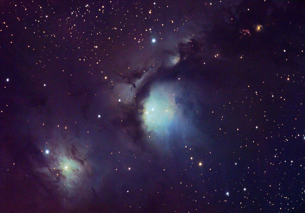 Les nuages de poussière réfléchissants d\'Orion