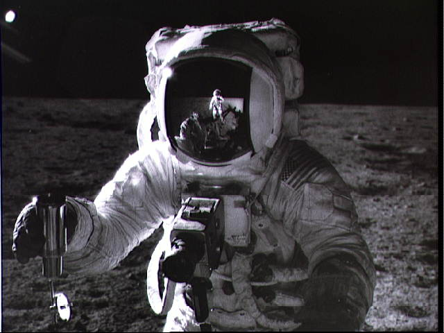 Apollo 12 : autoportrait