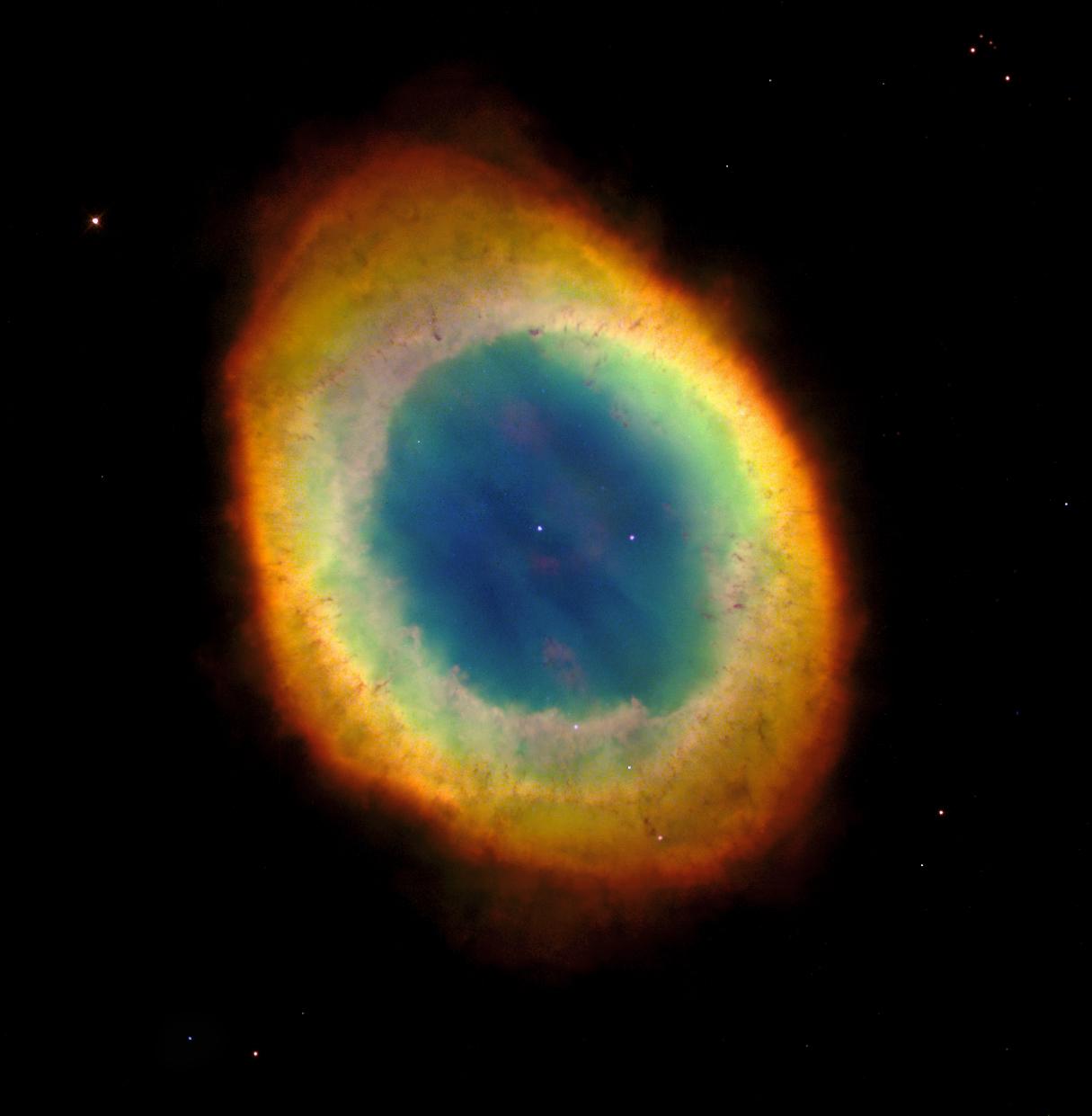 M 57 : la Nébuleuse Annulaire