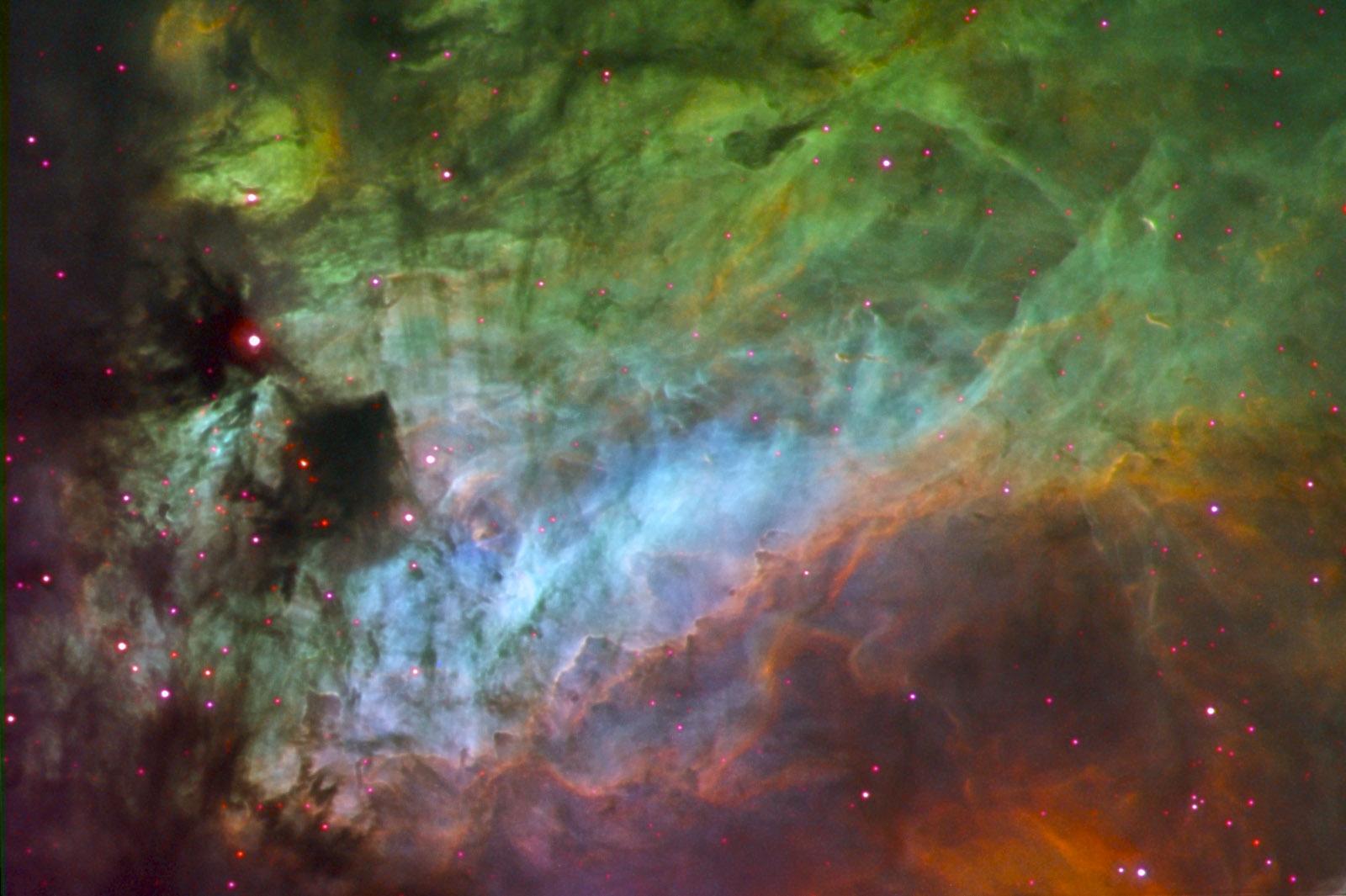 Les éléments de la Nébuleuse du Cygne