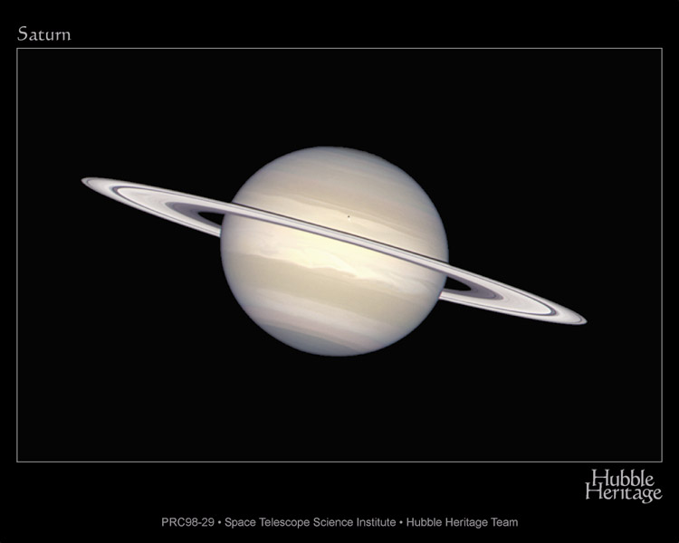Saturne au naturel sur la route de Cassini