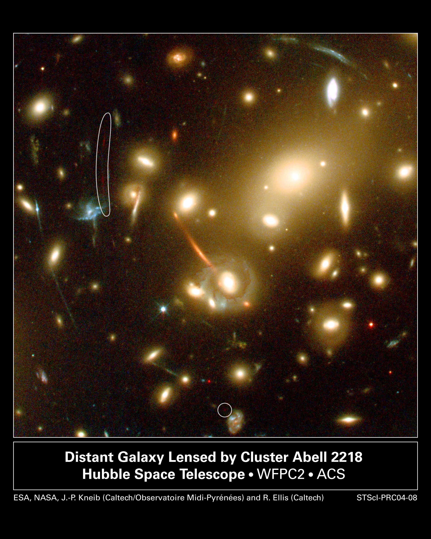 Plus lointaine galaxie connue