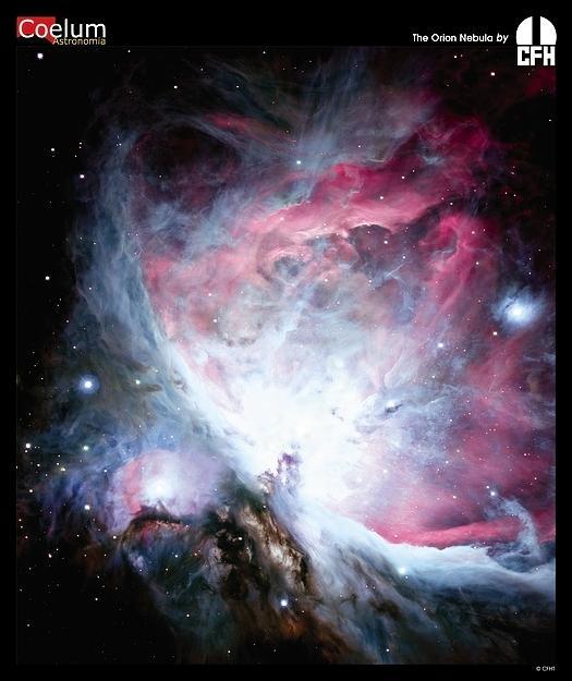 La Nébuleuse d\'Orion par le CFHT
