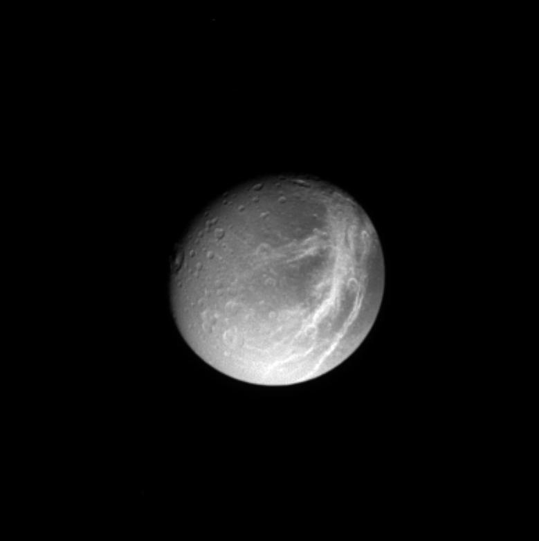 Dioné, Saturne, Cassini