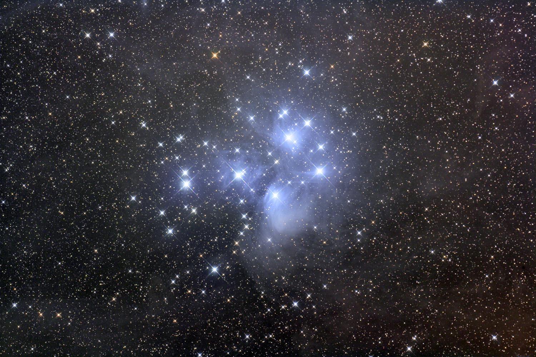 L\'amas d\'étoiles des Pléiades