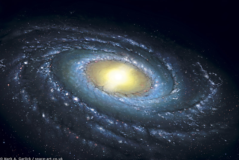 La Voie Lactée illustrée