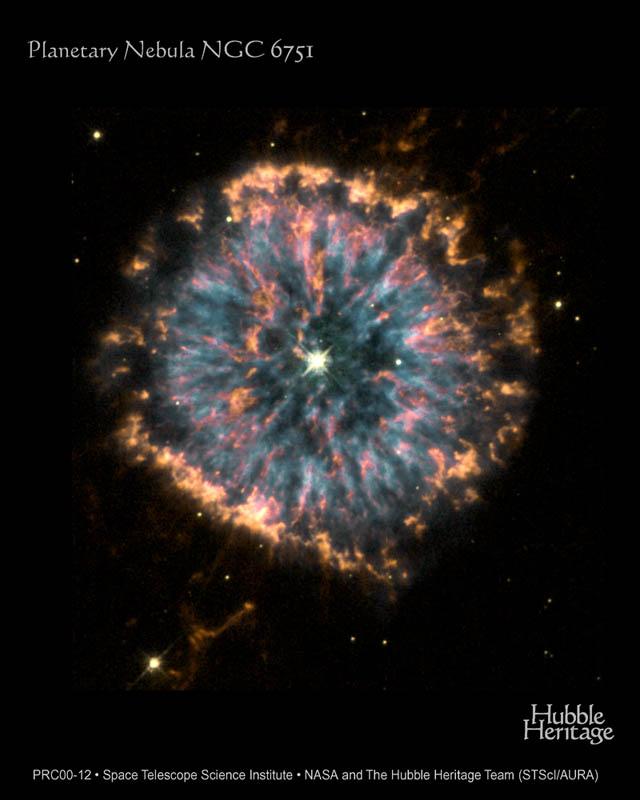 Fêtons Hublle avec NGC 6751