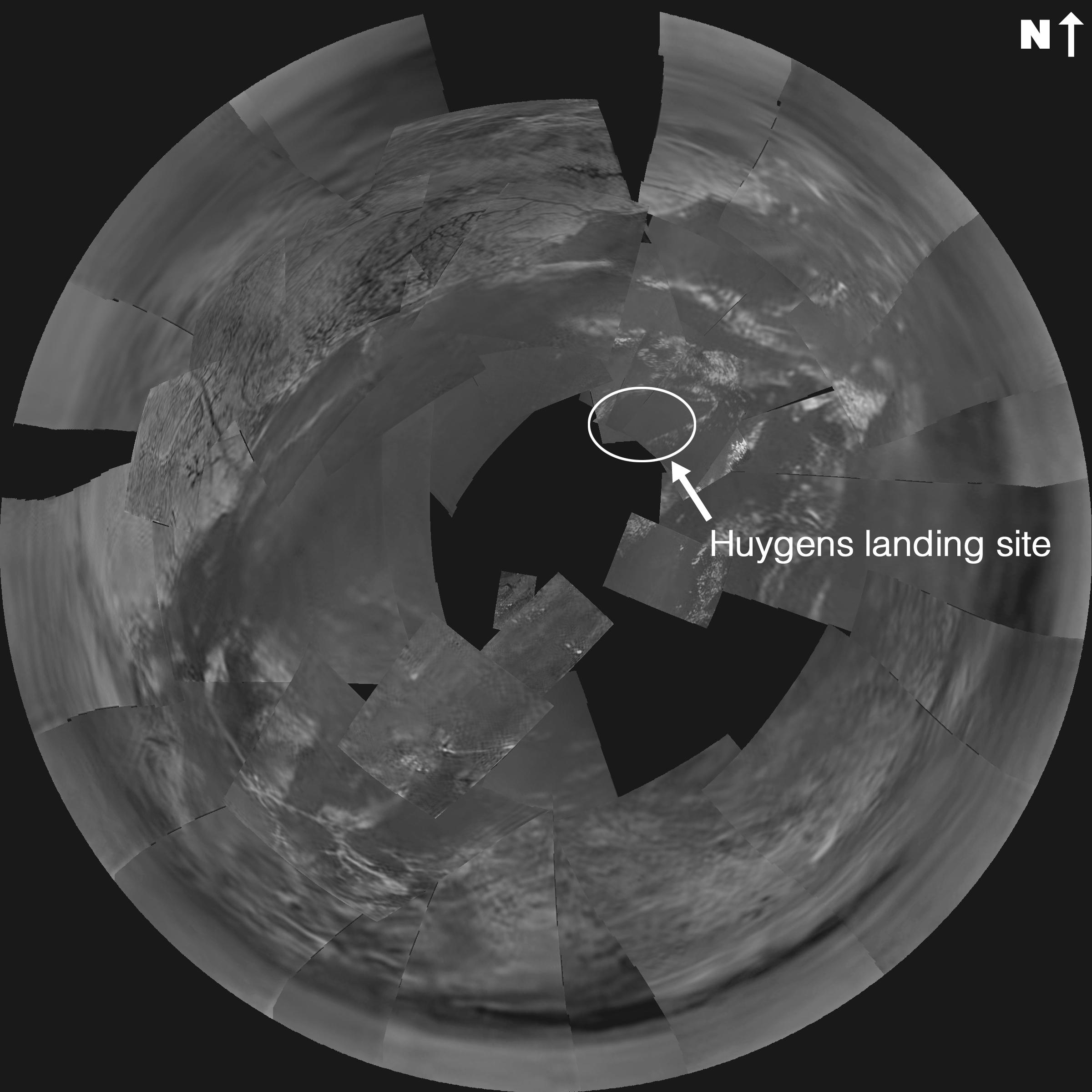 A 3km au-dessus de Titan