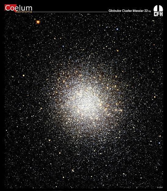L\'amas globulaire M22 par le CFHT