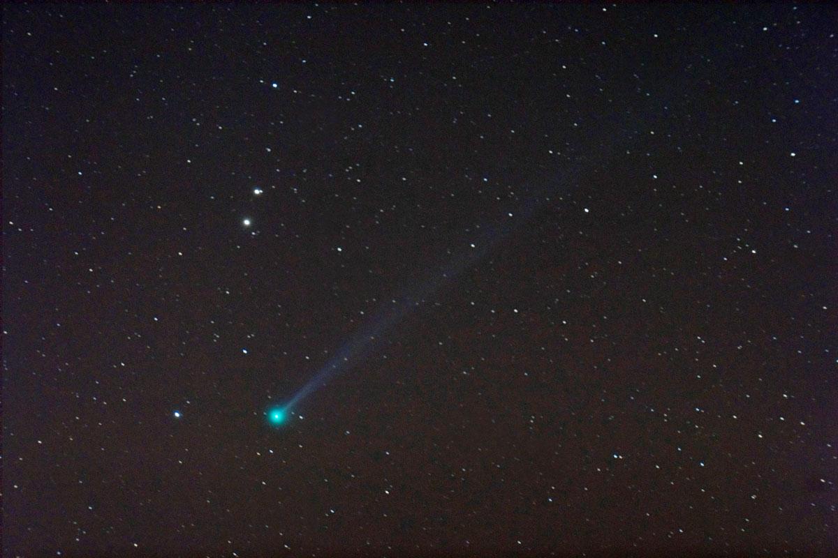 L\'inattendue comète Pojmanski