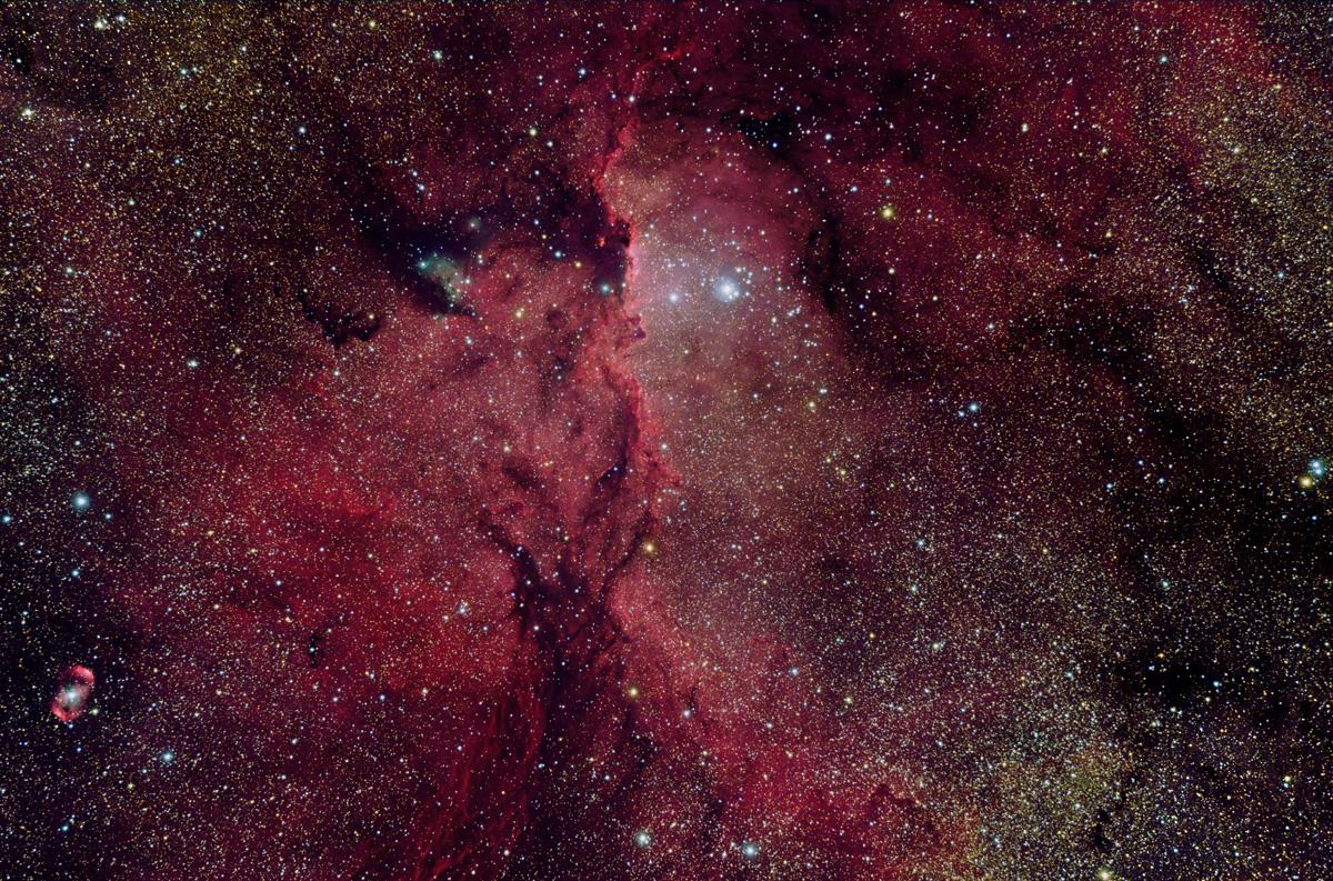 Réflexions sur NGC 6188
