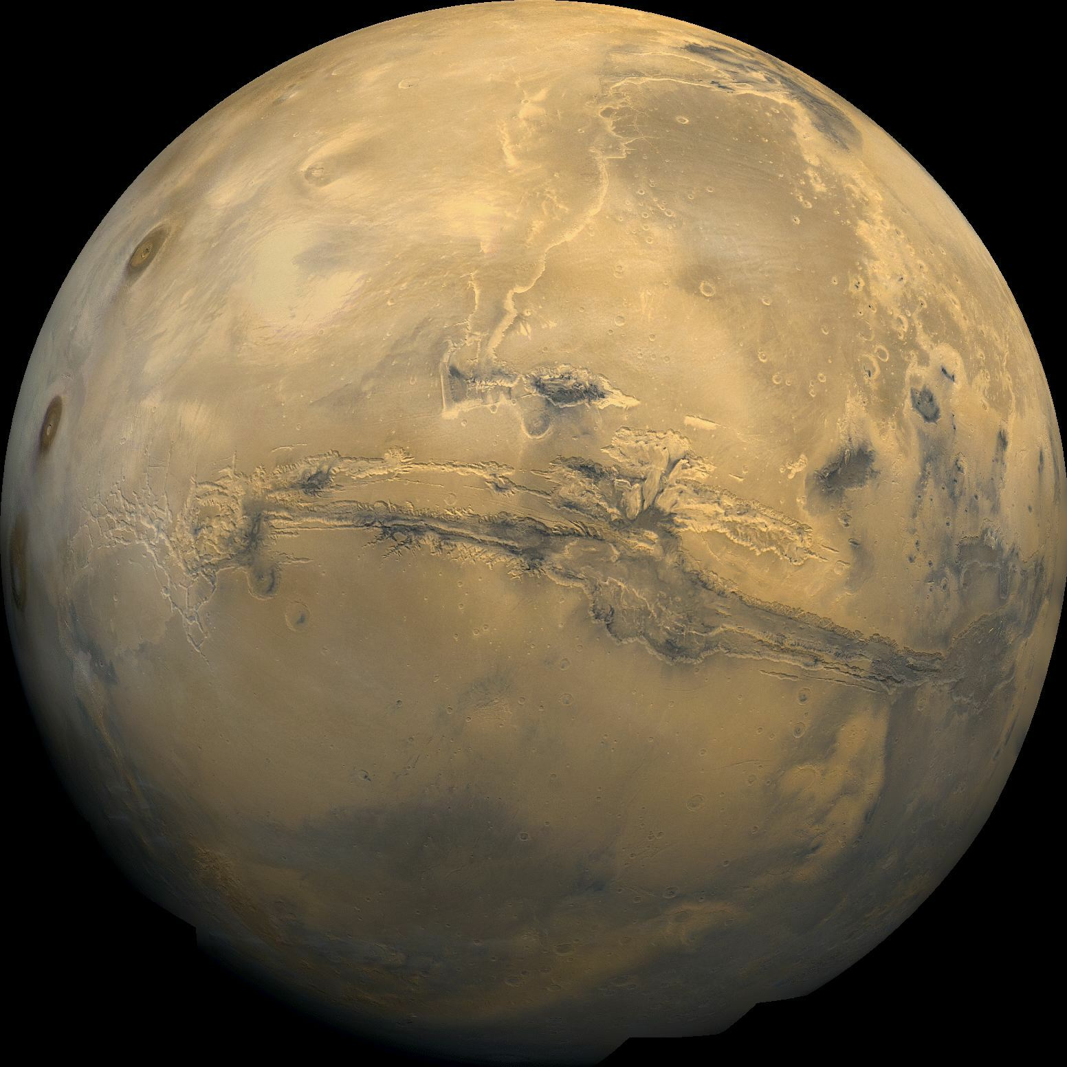Valles Marineris: Le Grand Canyon de Mars