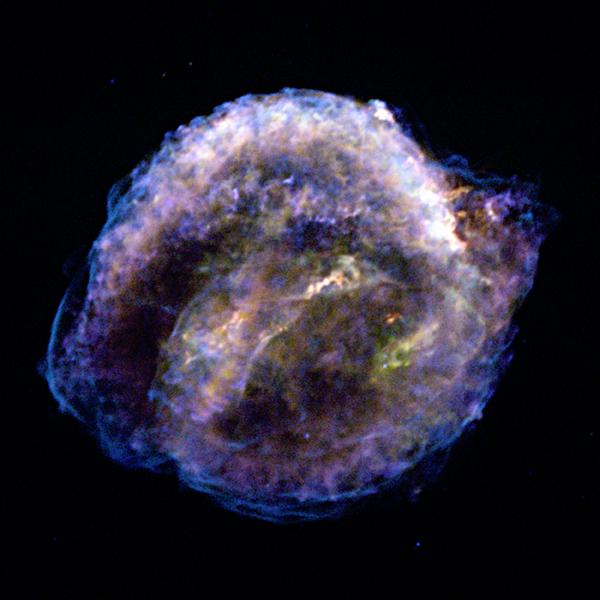 Le rémanent de la supernova de Kepler en X