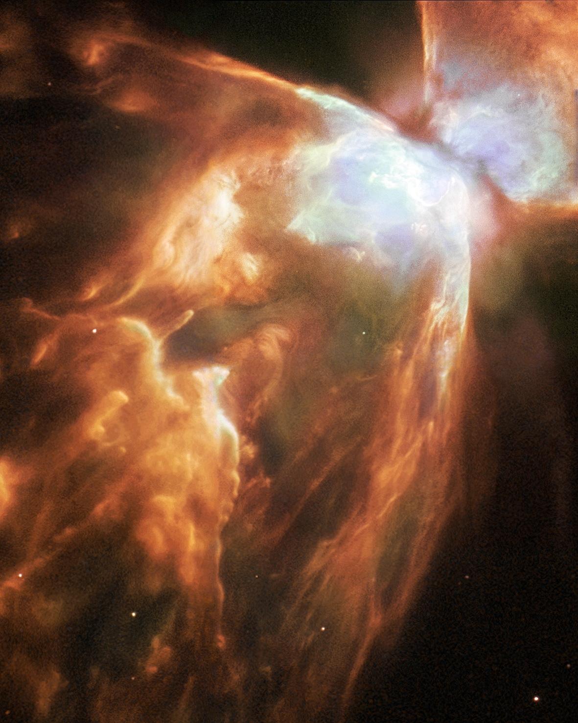 NGC 6302, la belle et brillante Nébuleuse de l\'Insecte