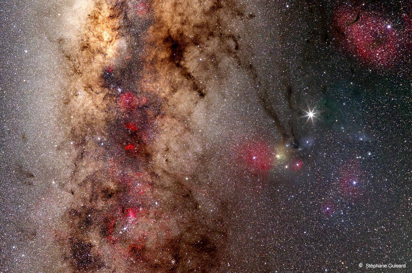 Le spectaculaire ciel du Scorpion