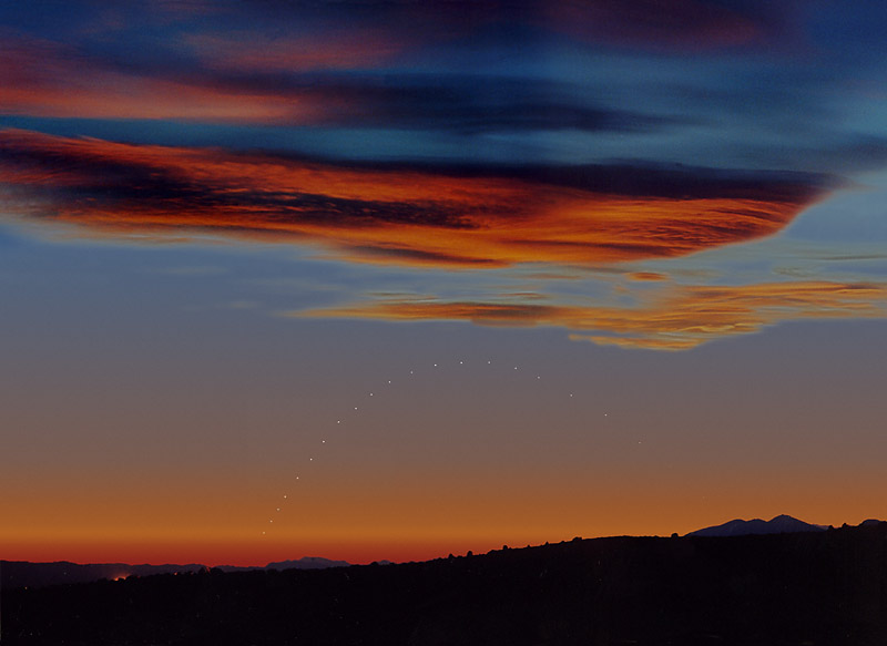Mercure au-dessus de l\'horizon
