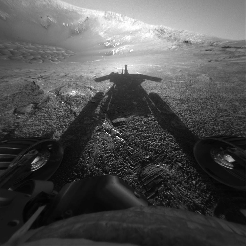 L\'ombre d\'un robot martien