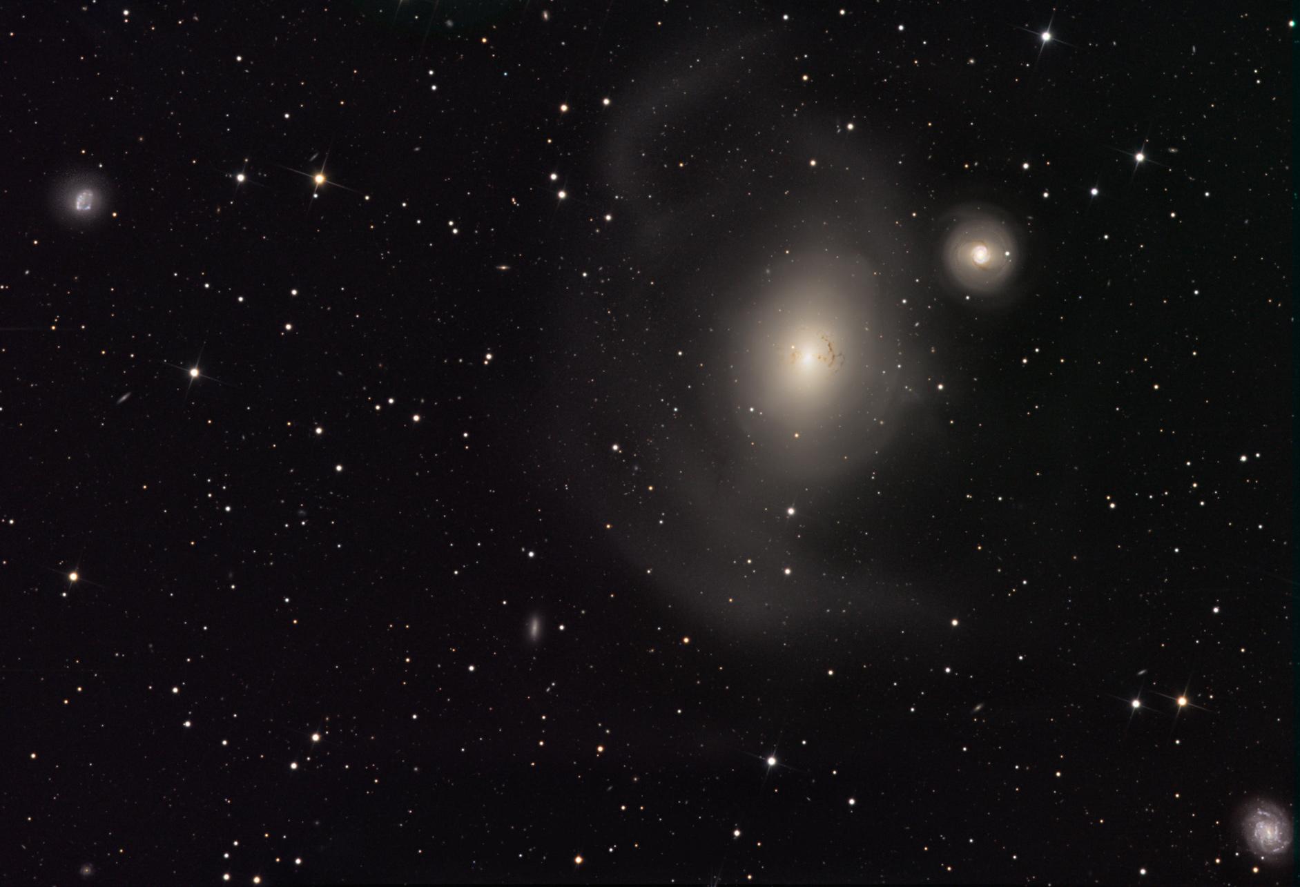 NGC 1316 après la collision