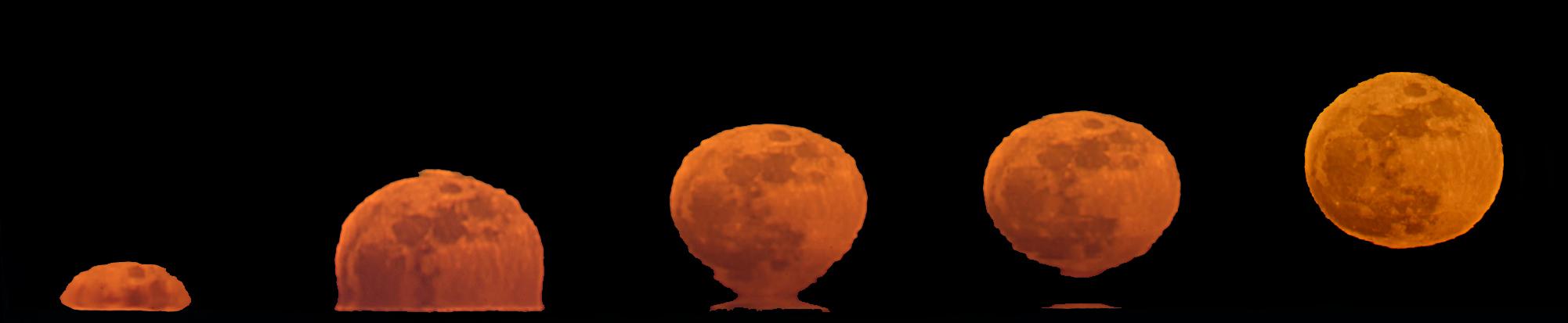 Lever de Lune en vase étrusque