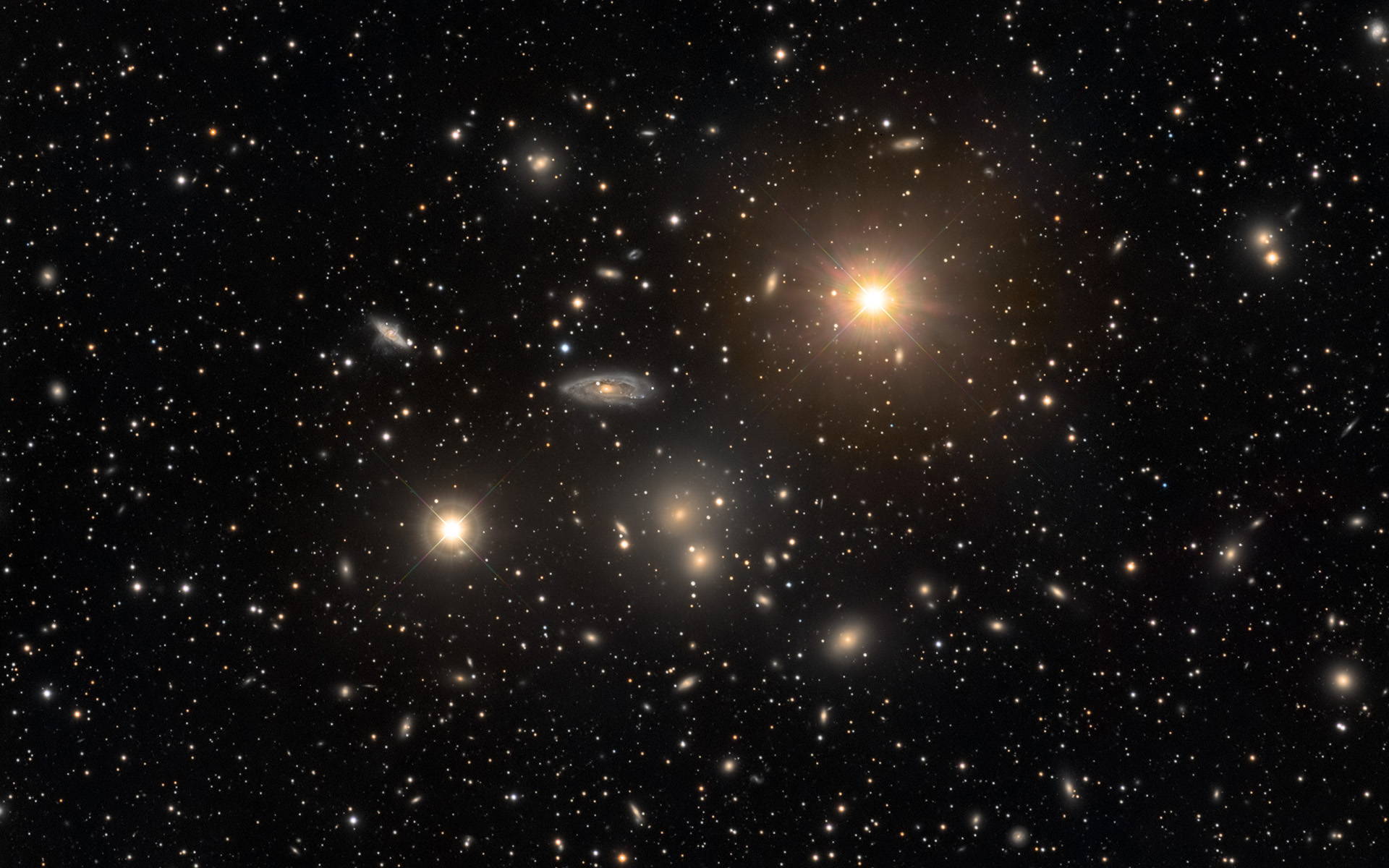 L\'amas de galaxies de l\'Hydre