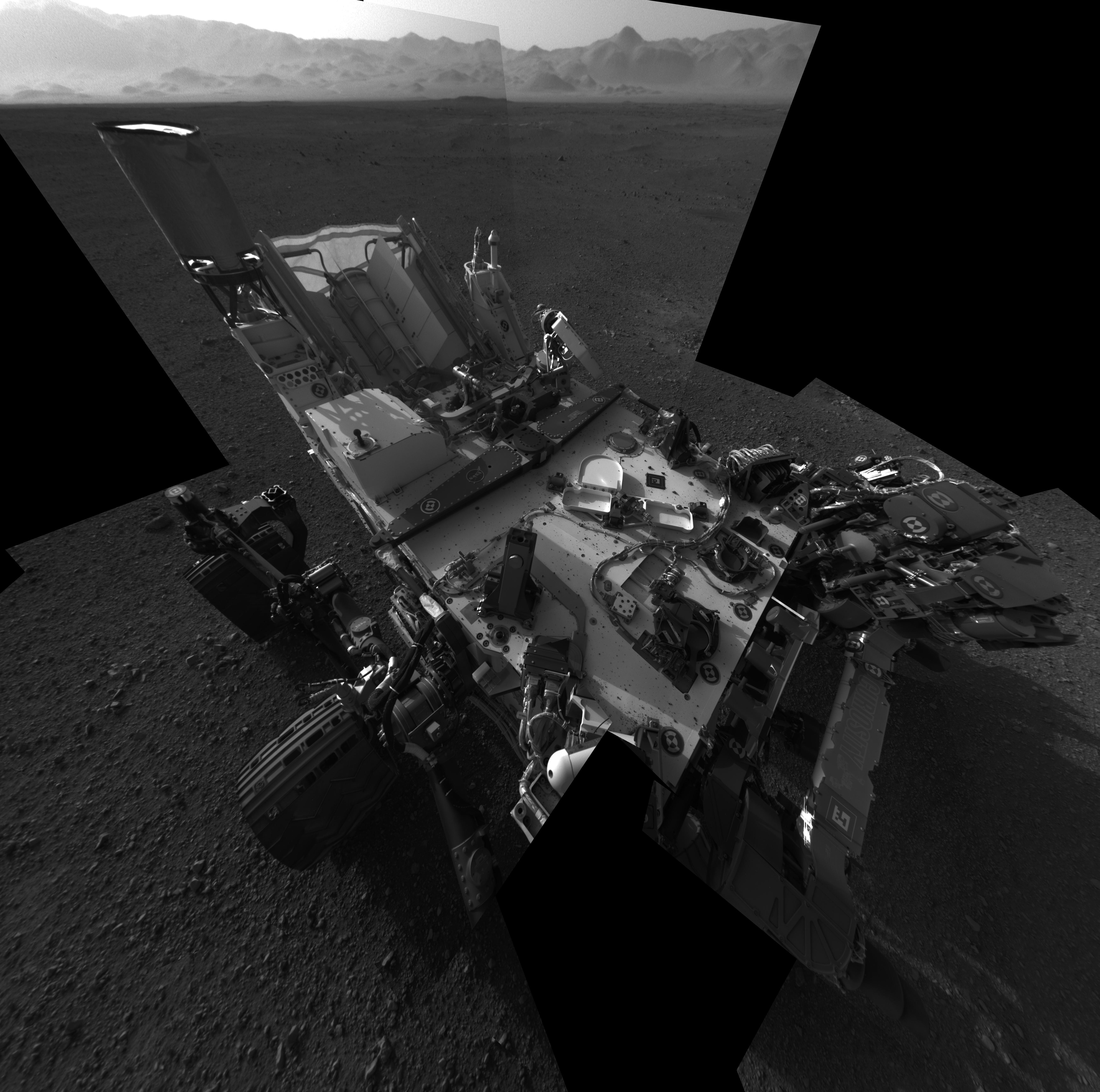 Nature morte au rover martien