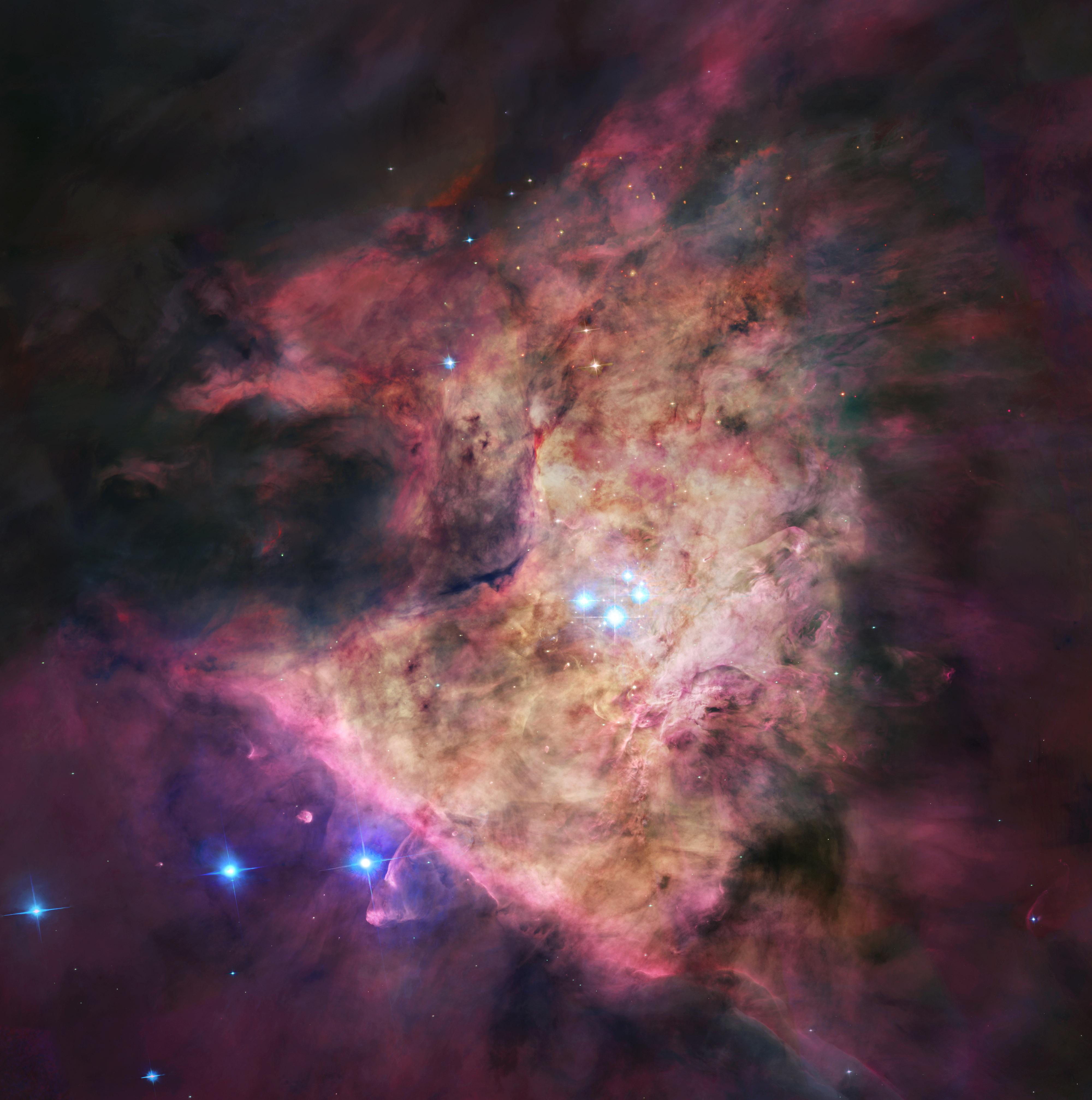 Un trou noir au coeur d\'Orion ?