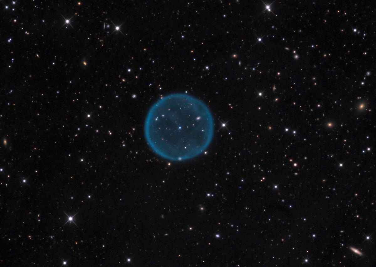 La nébuleuse planétaire sphérique Abell39