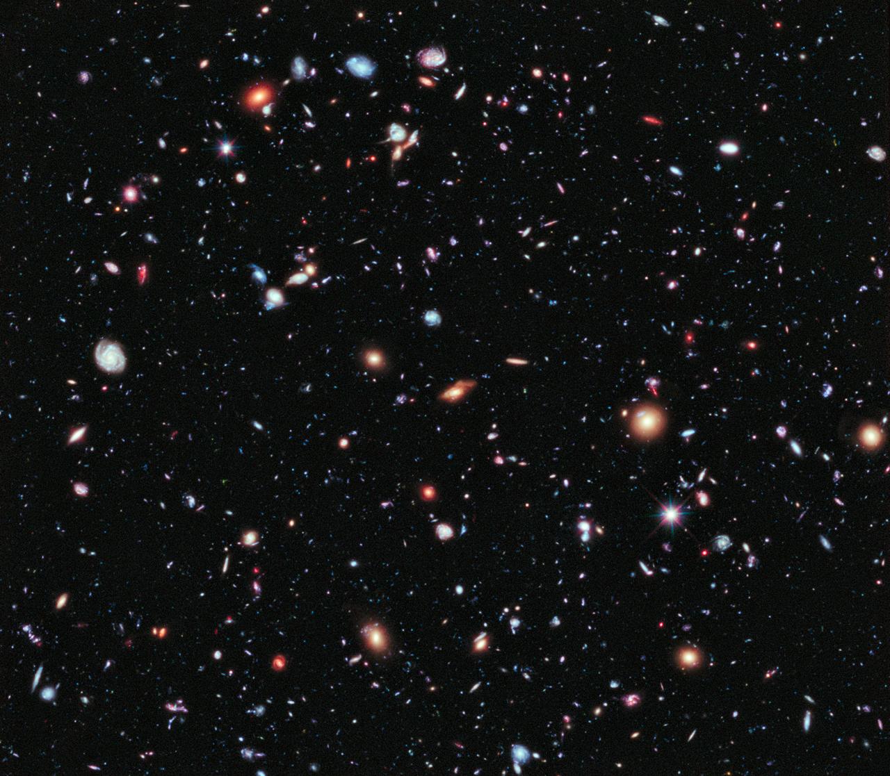Le champ extrême d\'Hubble