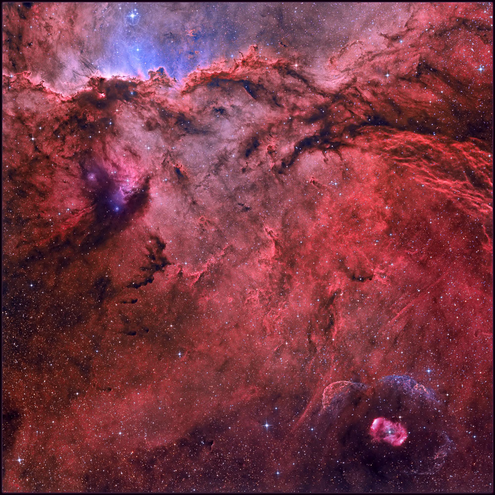 NGC 6188 et NGC 6164