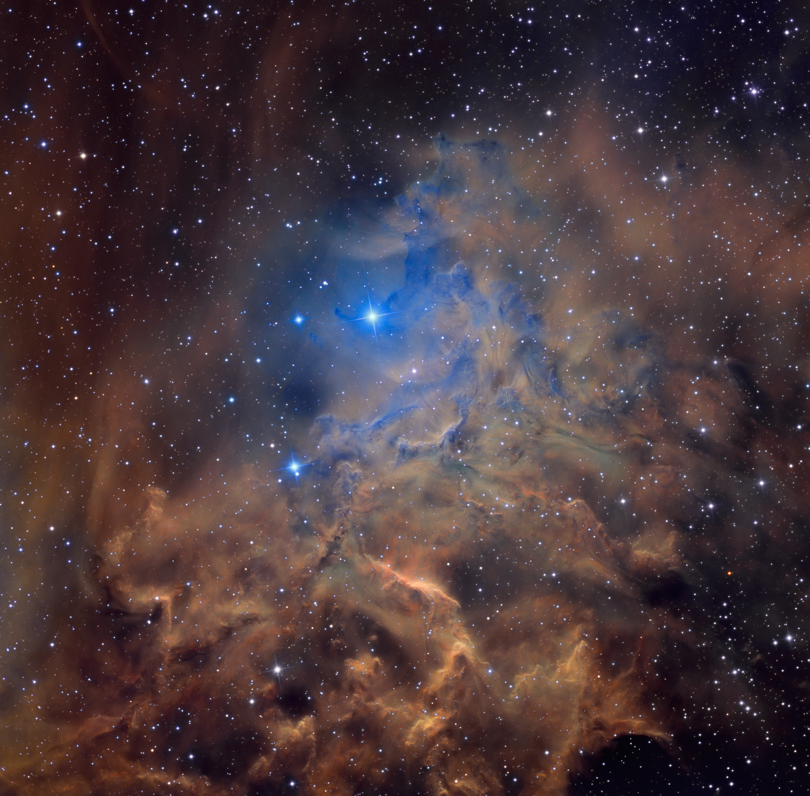 L\'étoile flamboyante