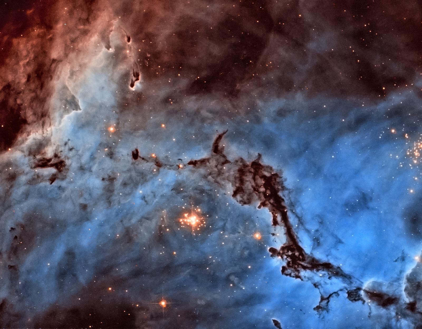 Des étoiles et de la poussière