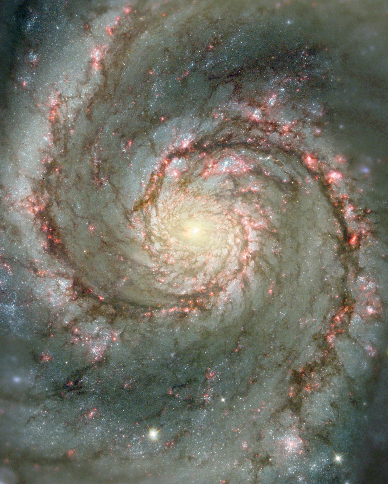 M51, la galaxie des Chiens de Chasse