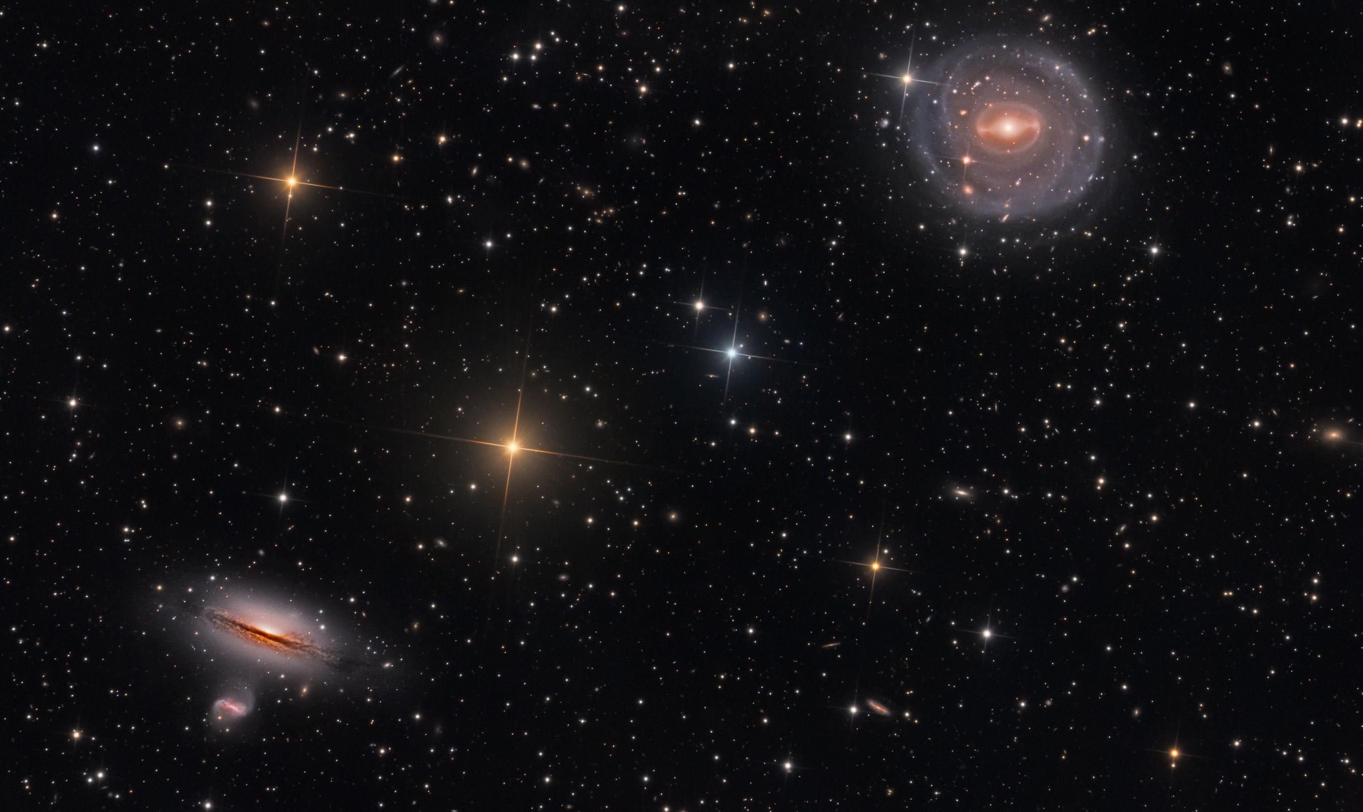 NGC 5101 et ses amis