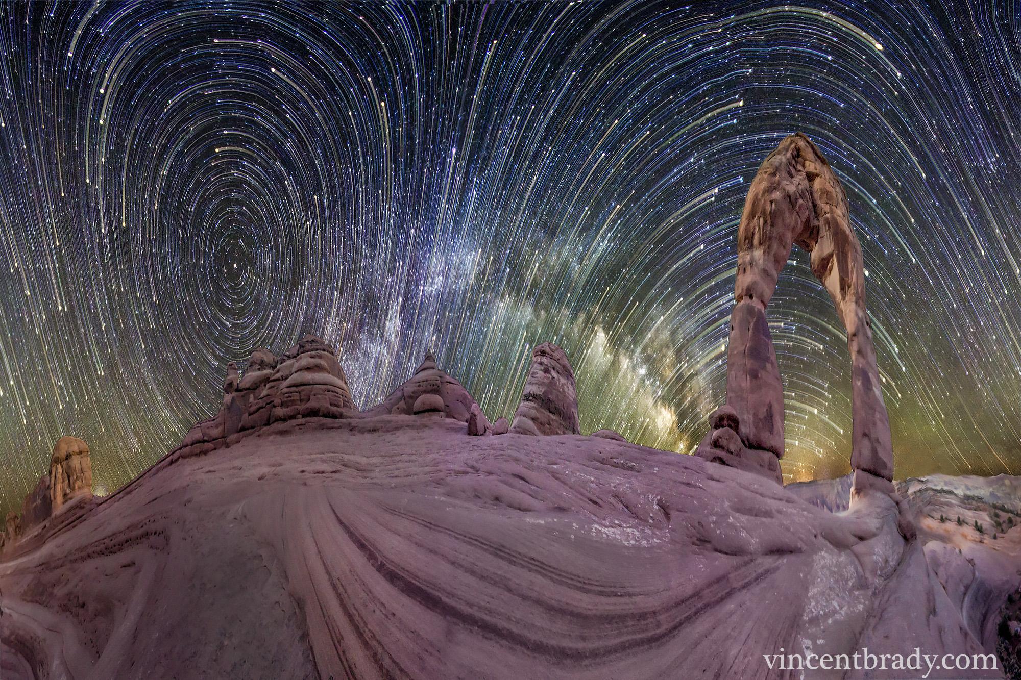 Ciel tourmenté sur Arches National Park