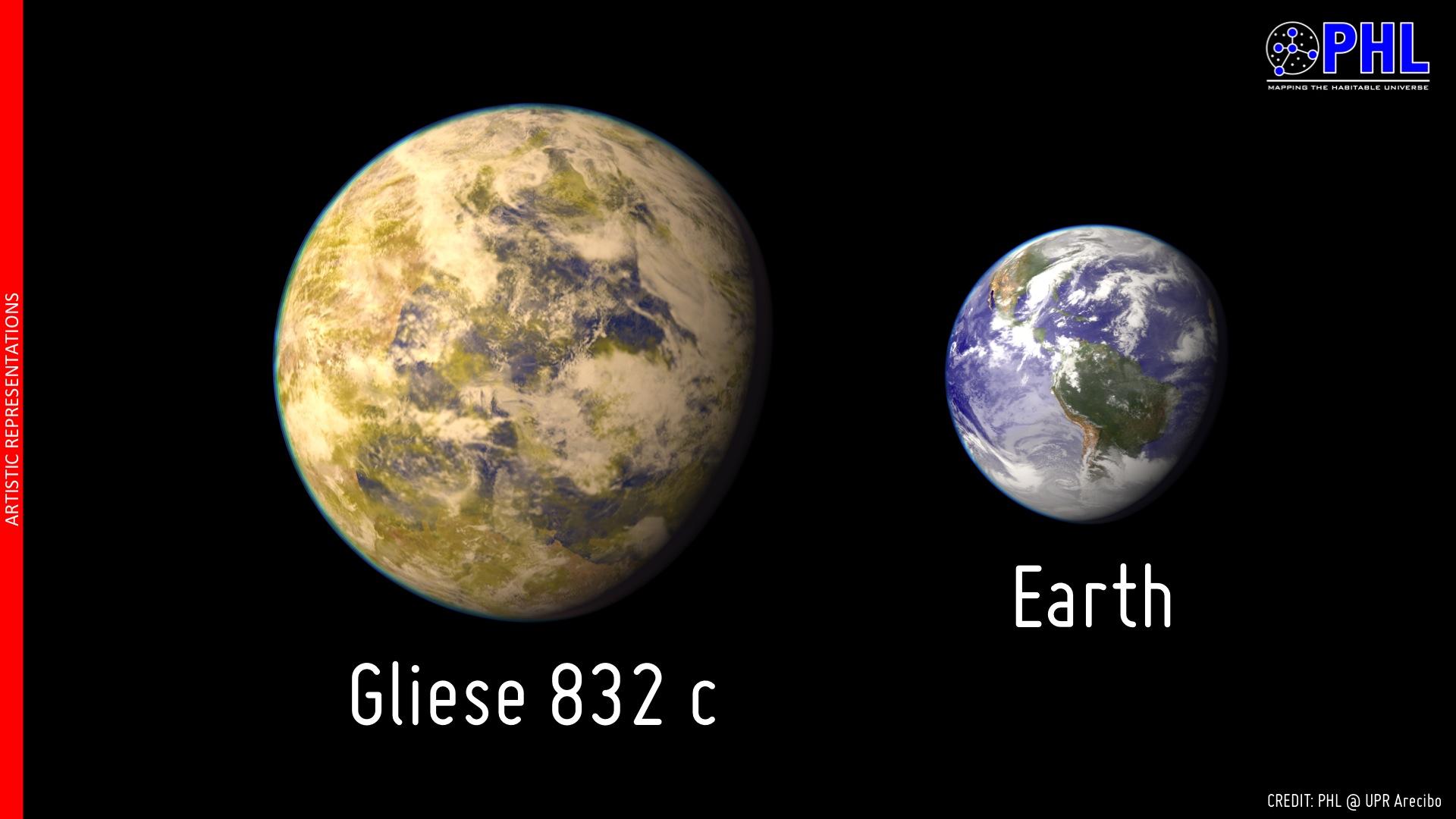 Gliese 832c, l\'exoplanète potentiellement habitable la plus proche