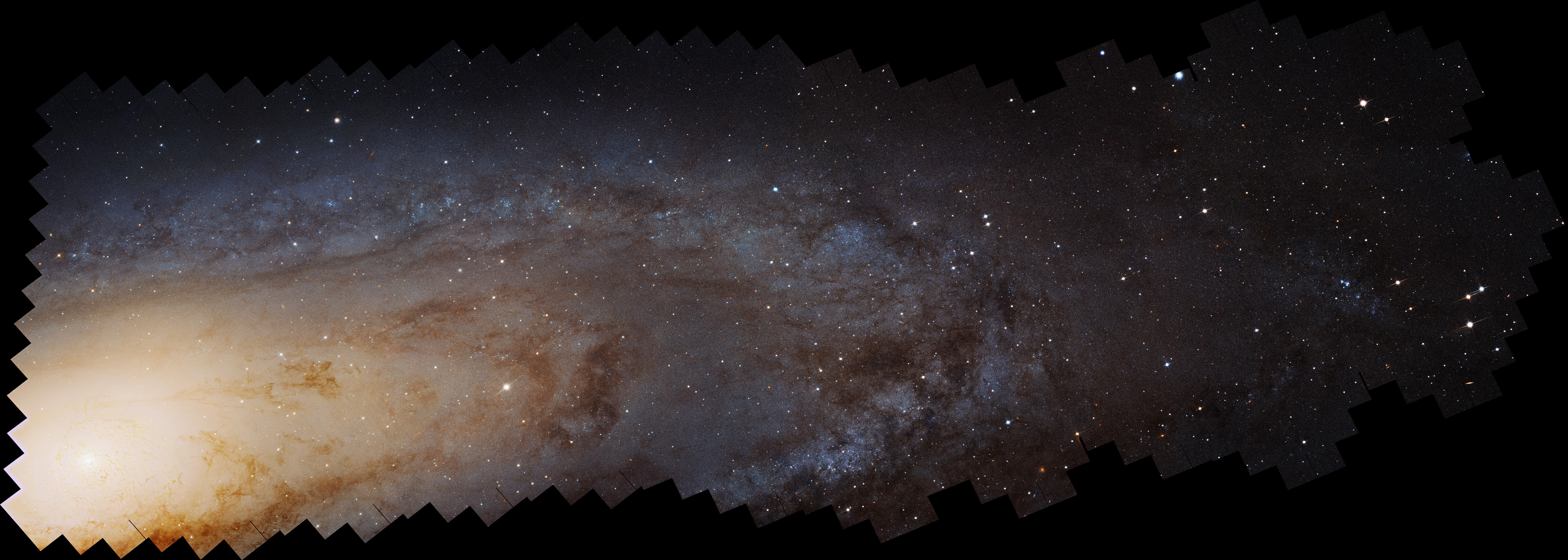 100 millions d\'étoiles dans la galaxie d\'Andromède