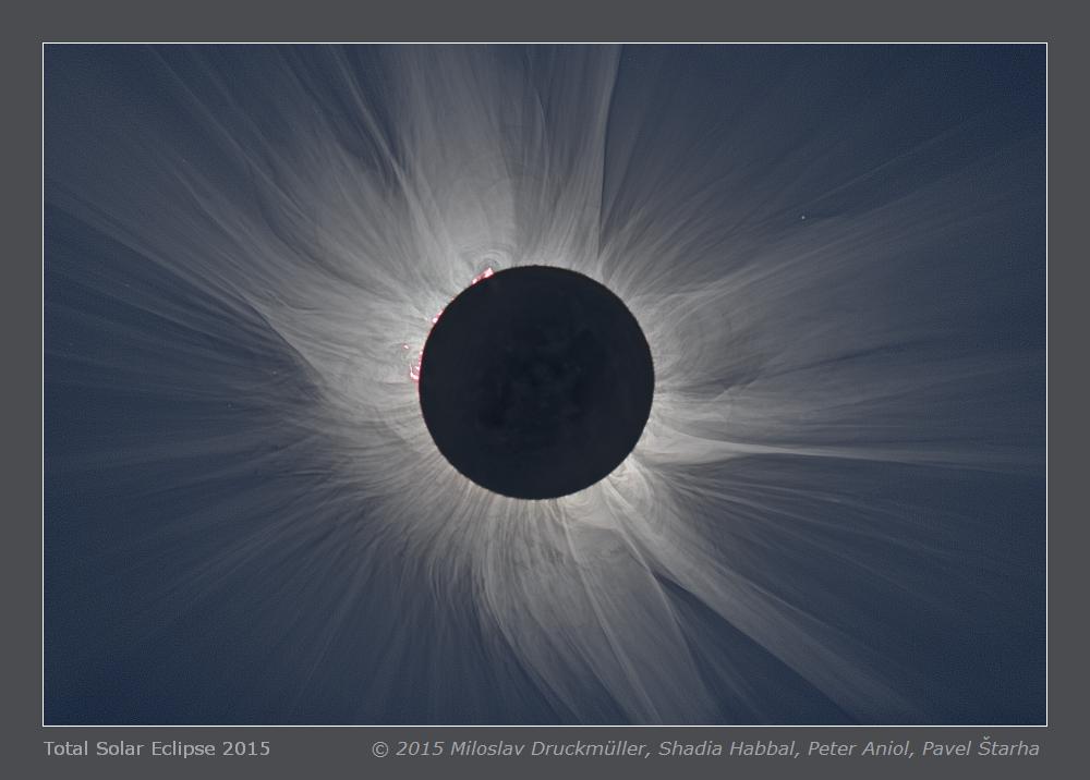 Couronne solaire au Svalbard