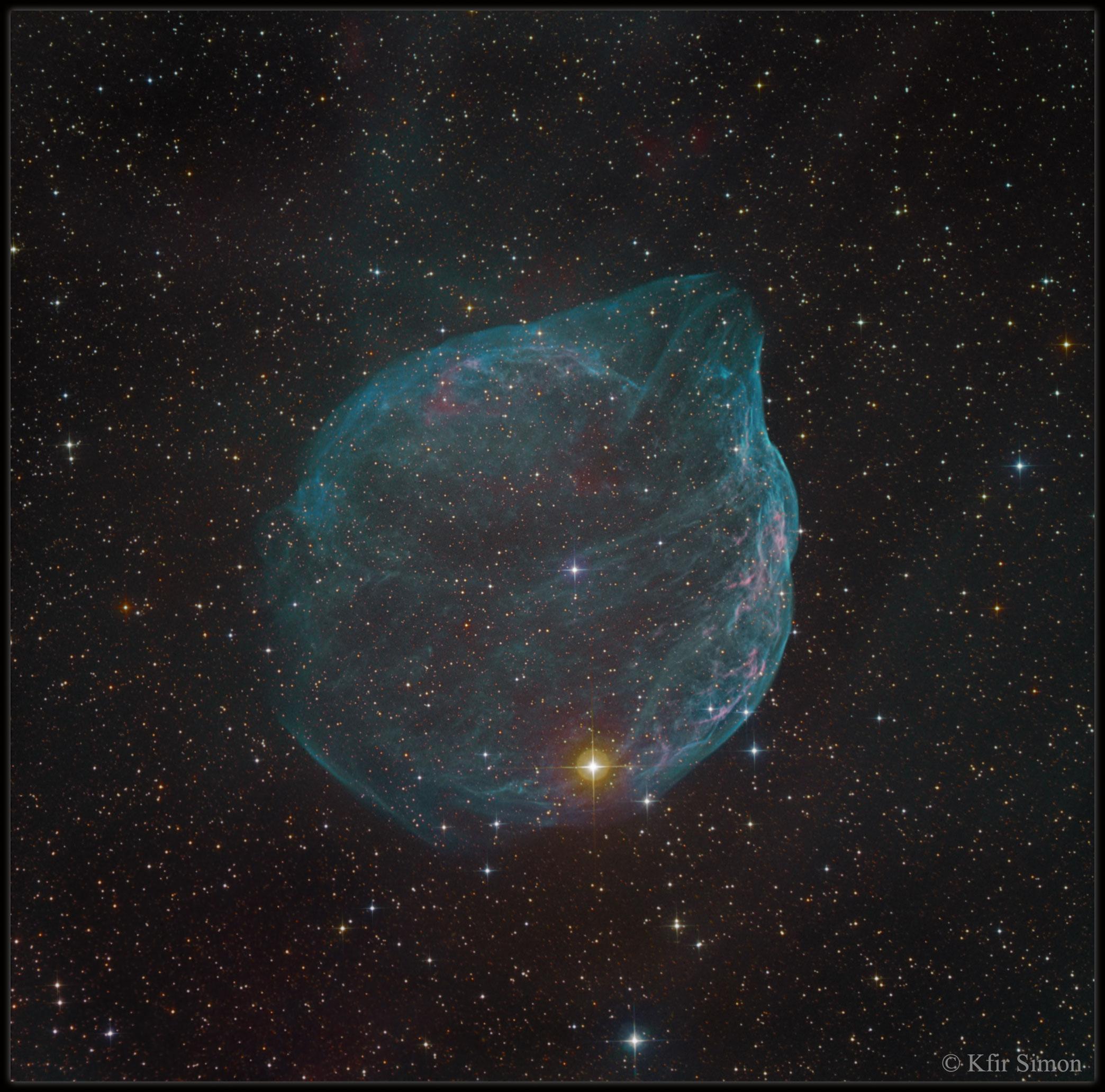 Sharpless 308, bulle d\'étoile