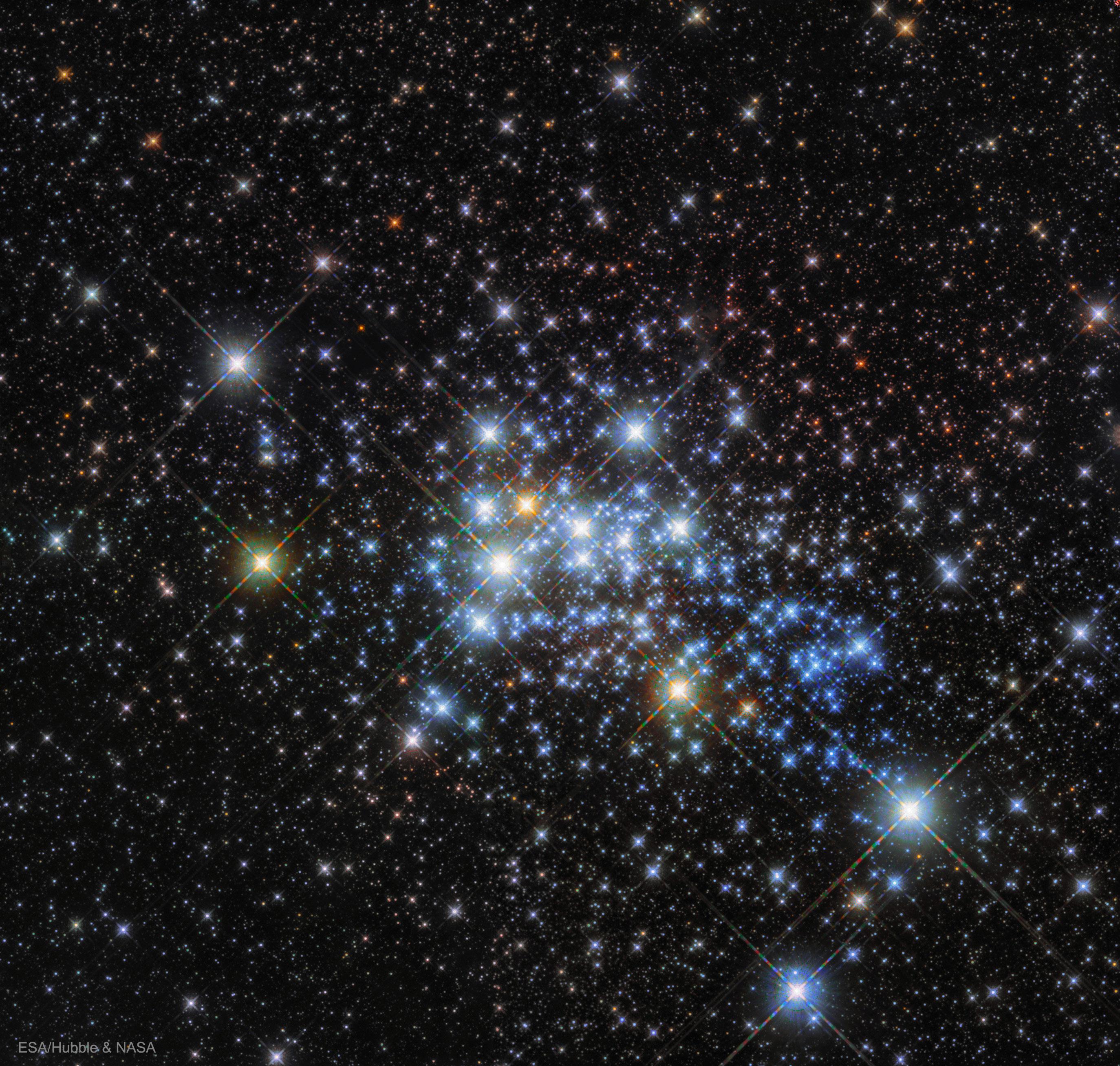 Les étoiles massives de Westerlund 1