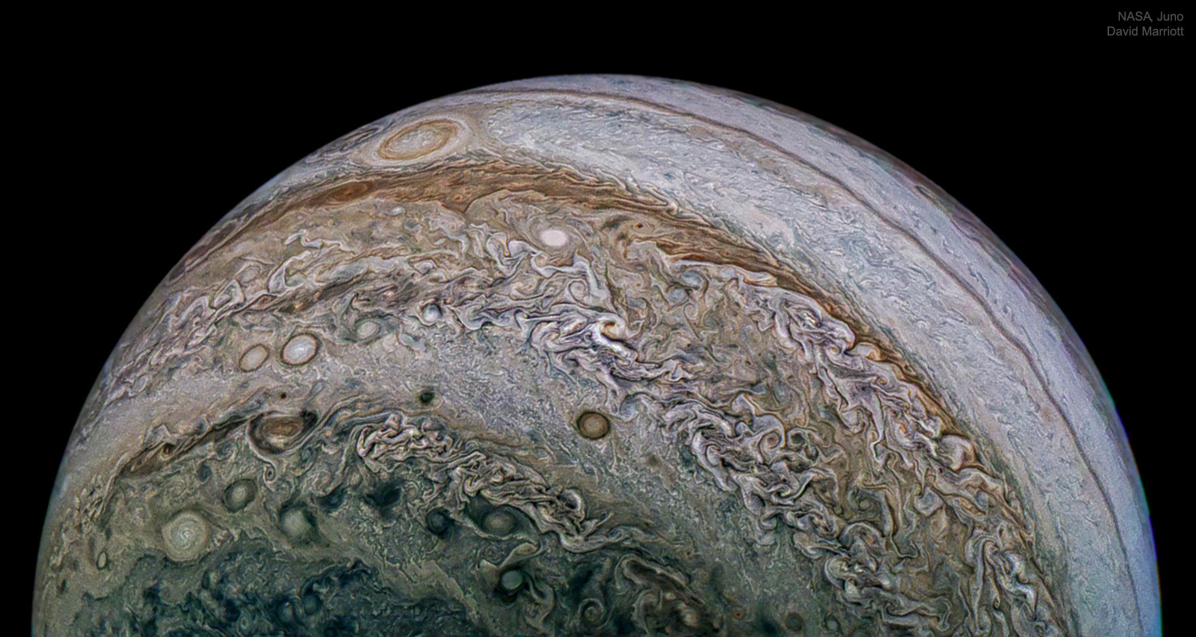 La complexité de Jupiter