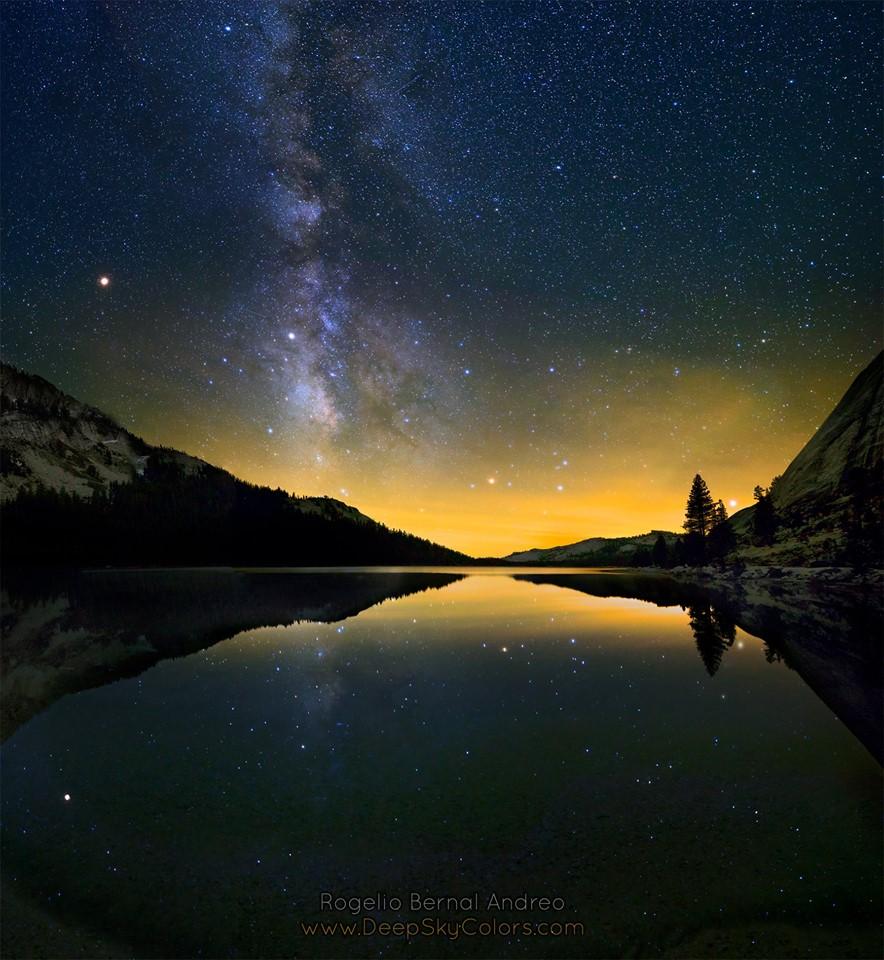 Six planètes vues du parc Yosemite