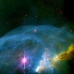 NGC 7635: la nébuleuse Bubble