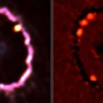 Nouveaux heurts dans la supernova 1987A