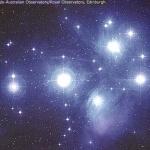 L'amas d'étoiles des Pléiades