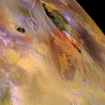 Zal Patera sur Io, la lune de Jupiter